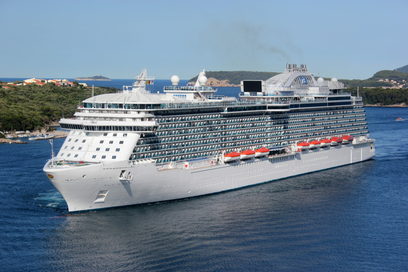 Regal-Princess-in-navigation