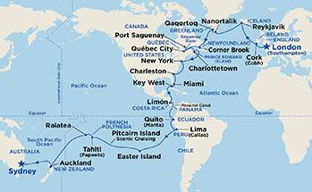 Mapa Tahiti Mapa Sveta