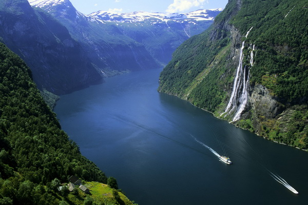 Geiranger Fjord , Norway