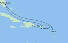 mapa_celebrity_reflection_vzhodni karibi novo leto