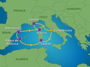 mapa_jewel_ of the Seas_zahodno_sredozemlje