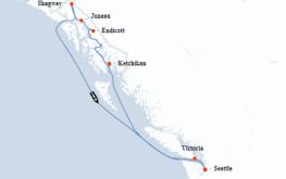 mapa aljaska celebrity solstice