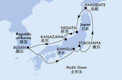 mapa_msc_ bellissima japonska iz yokihame 9dni