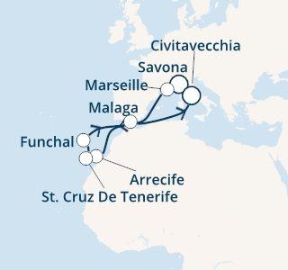 mapa_costa_pacifica_kanarski_otoki_iz savone