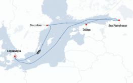 mapa adventure ots baltik iz kopenhagna