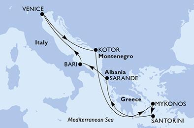 mapa_msc_sinfonia benetke vzhodno sredozemlje albanija 21