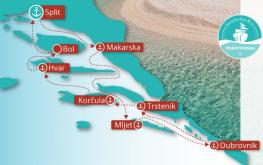 mapa dalmacija KL2