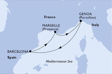 05-dni Inavguralno Zahodno Sredozemlje msc world europa