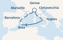 mapa costa firenze zahodno sredozemlje -ibiza